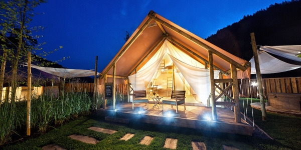 Herbal glamping resort