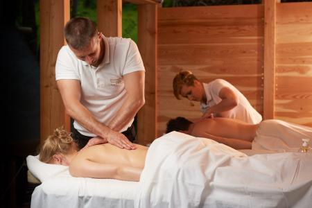 Massage-Pavillon