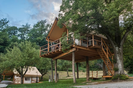 Glamping tent TREE HOUSE